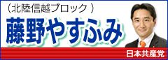 藤野やすふみ(衆議院議員)