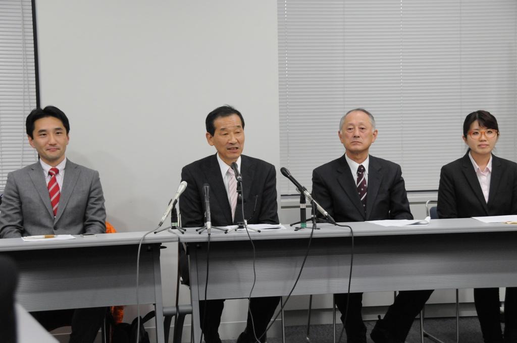 候補者発表写真4名