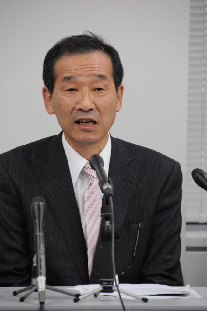 記者会見亀田