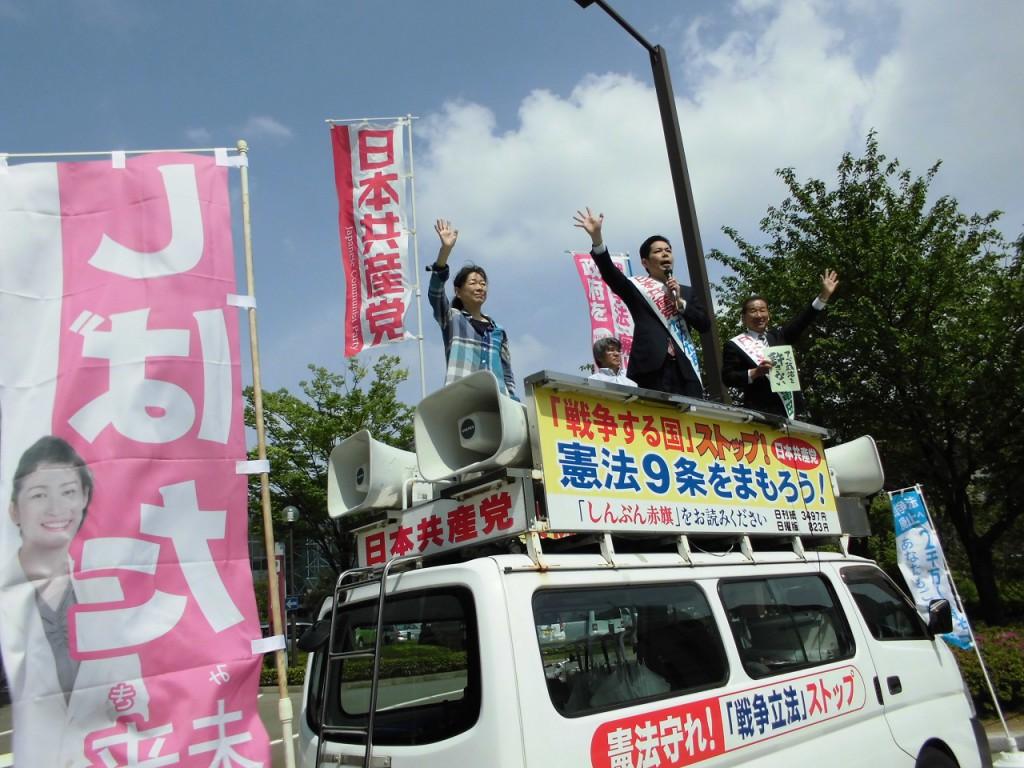労働者宣伝424東口 (1)
